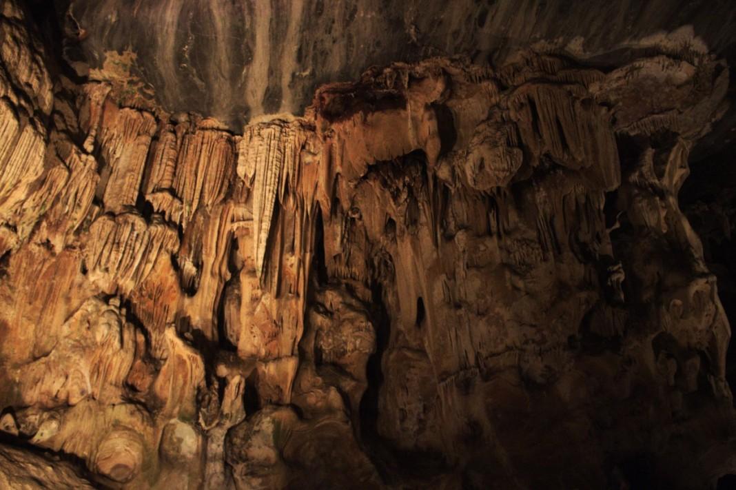 Formations in Cango Caves Oudtshoorn