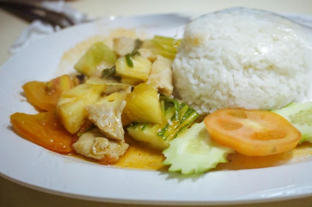 Food Thai sleeper train