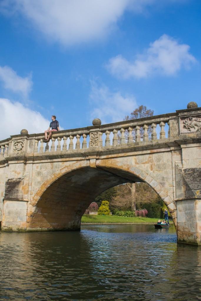 Bridge over the river Cam, Cambridge