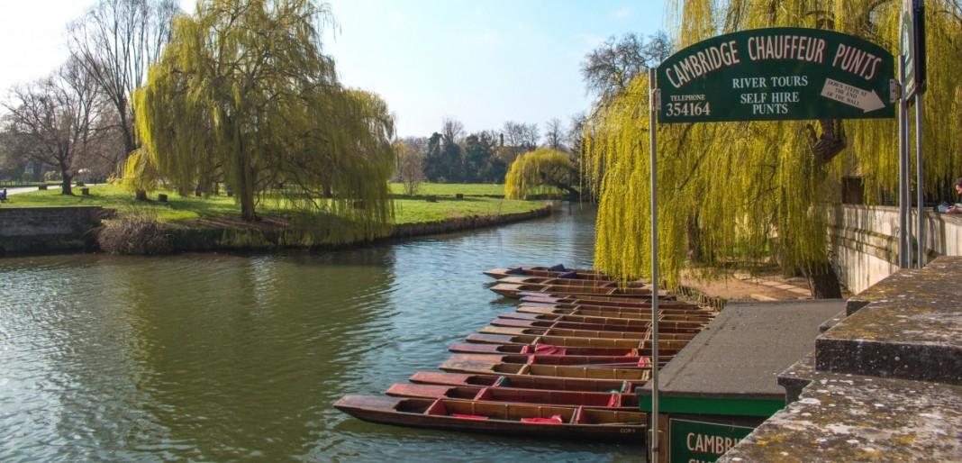 Punting in Cambridge - River Cam