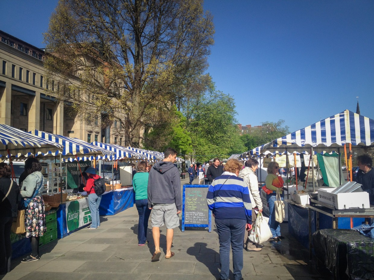 Farmer's Market, Edinburgh