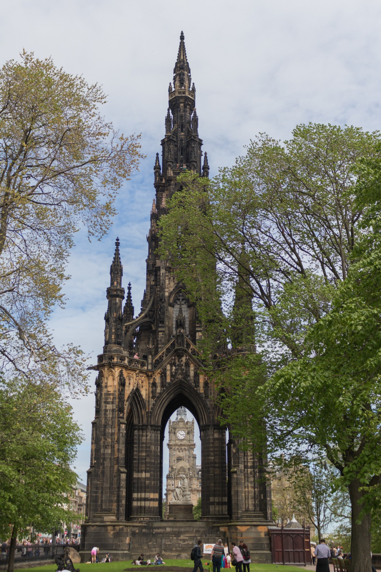Scots Monument, Edinburgh
