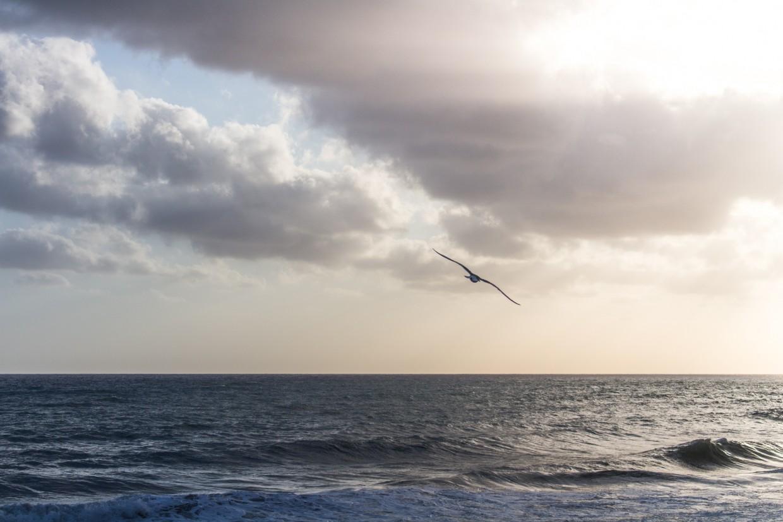 Levanto sea sunset, Cinque Terre