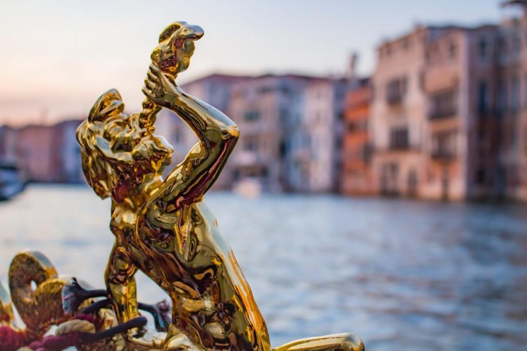 Detail gondola Venice