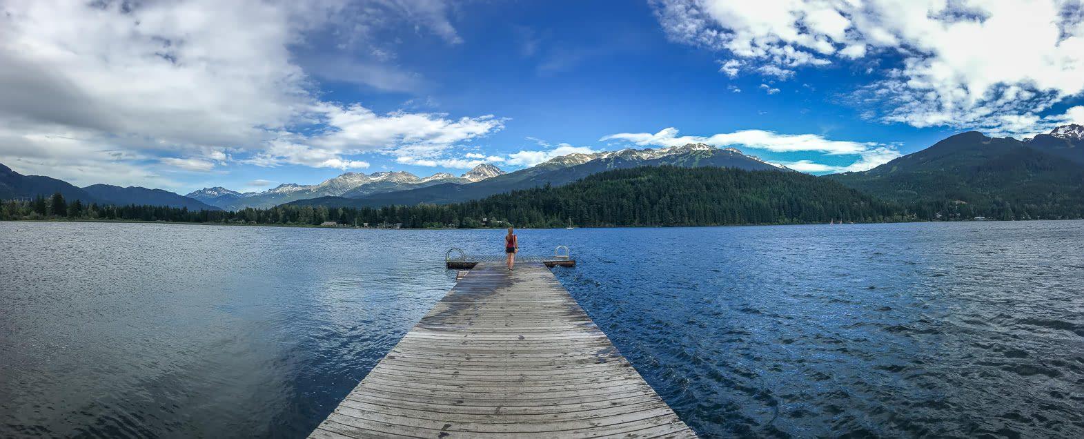 Alta Lake near Whistler