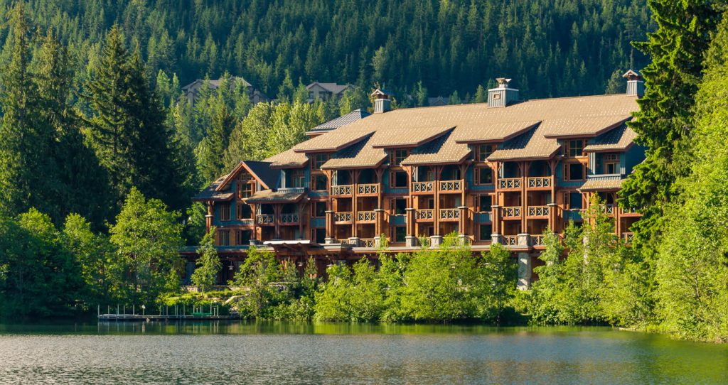 Nita Lake Lodge exterior