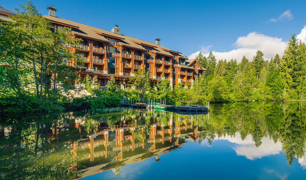 Nita Lake Lodge in Summer