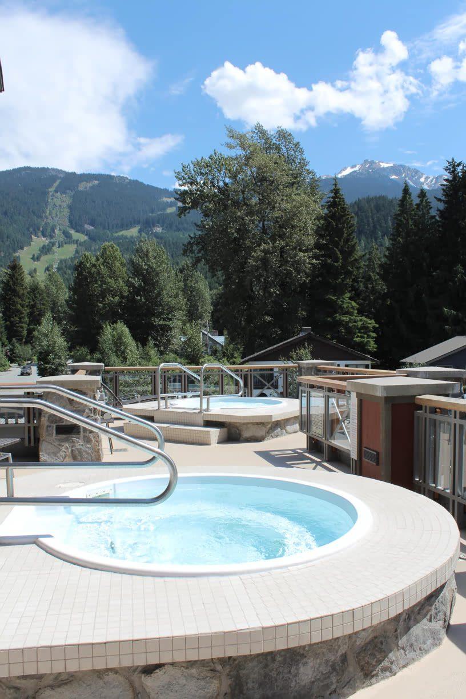 Spa Hot Tubs at Nita Lake Lodge