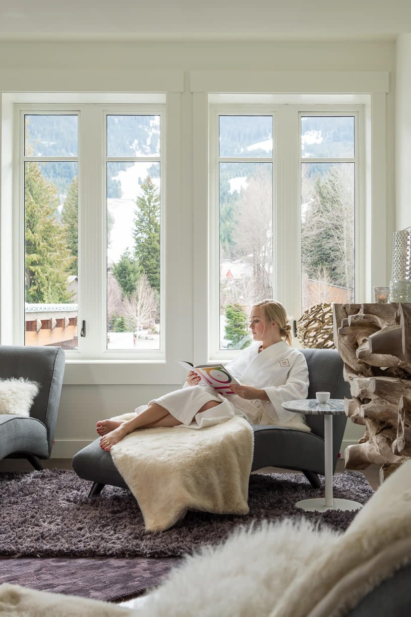 Spa Lounge at Nita Lake Lodge