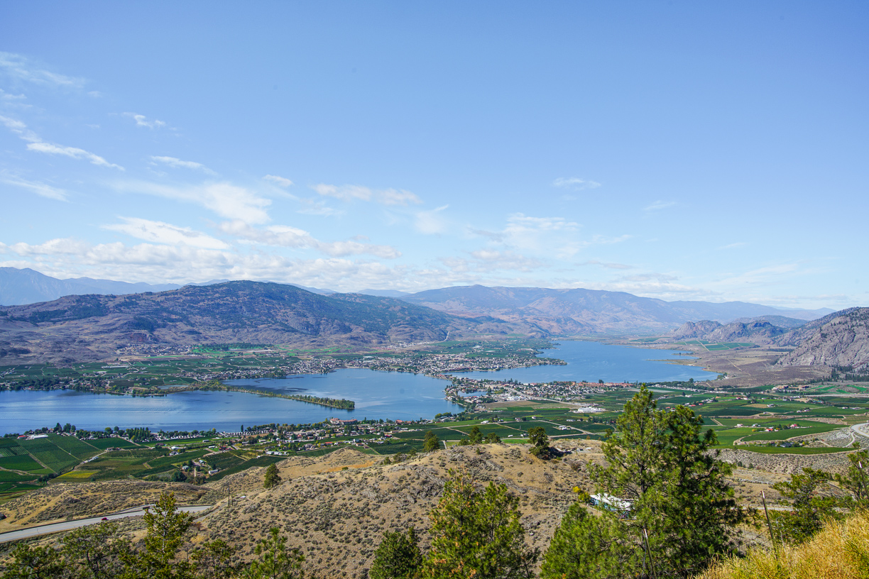 View over Osoyoos Lake
