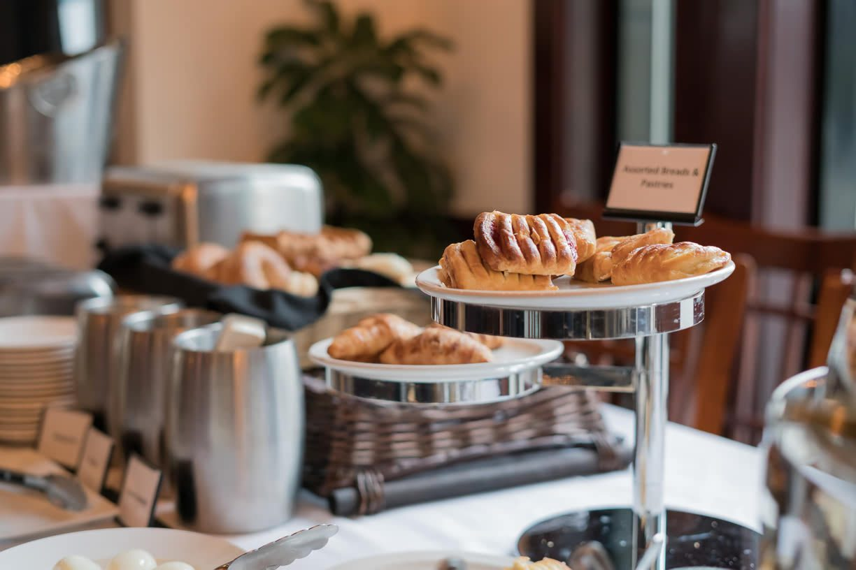 Breakfast pastries Magnolia Hotel & Spa