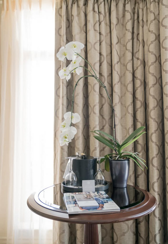 Detail room, Magnolia Hotel & Spa