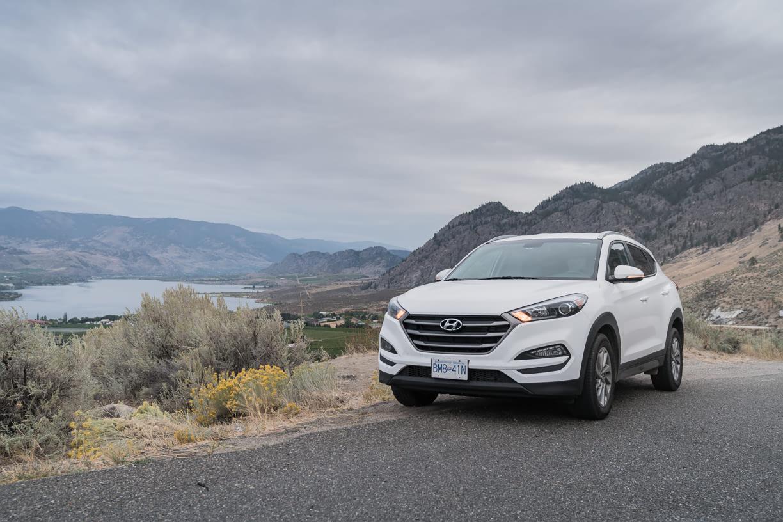Hyundai Tucson in Okanagan