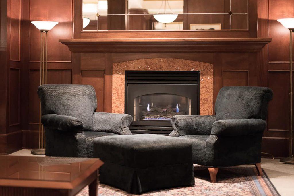 Lobby at the Magnolia Hotel & Spa