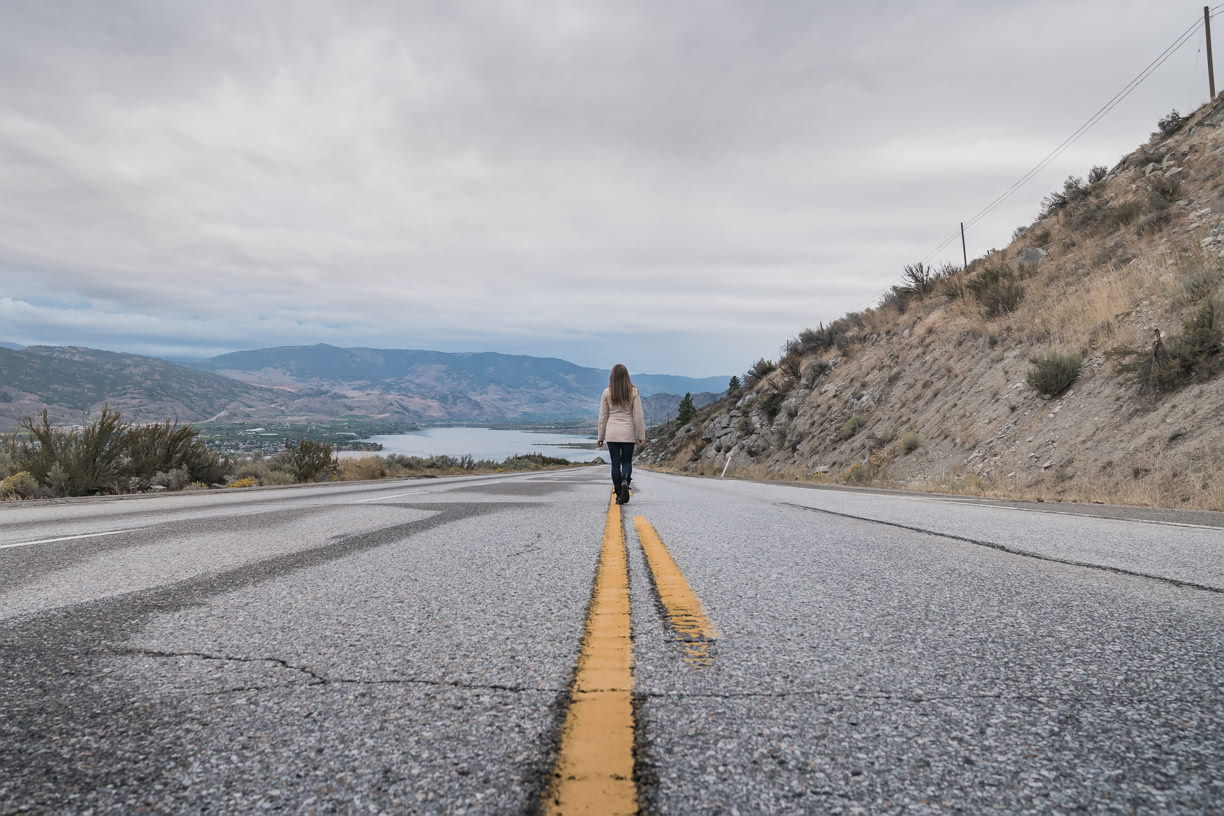 Road in Okanagan