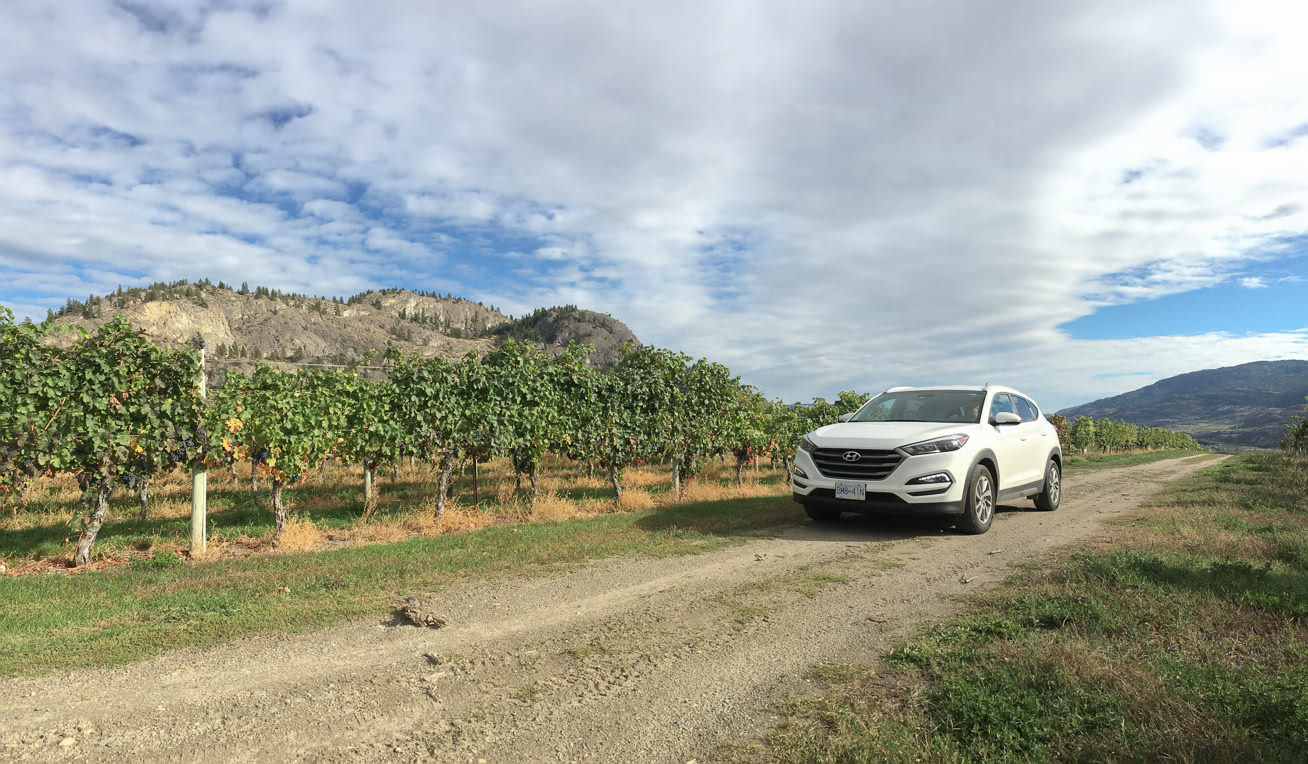 Trip to Okanagan with Zipcar