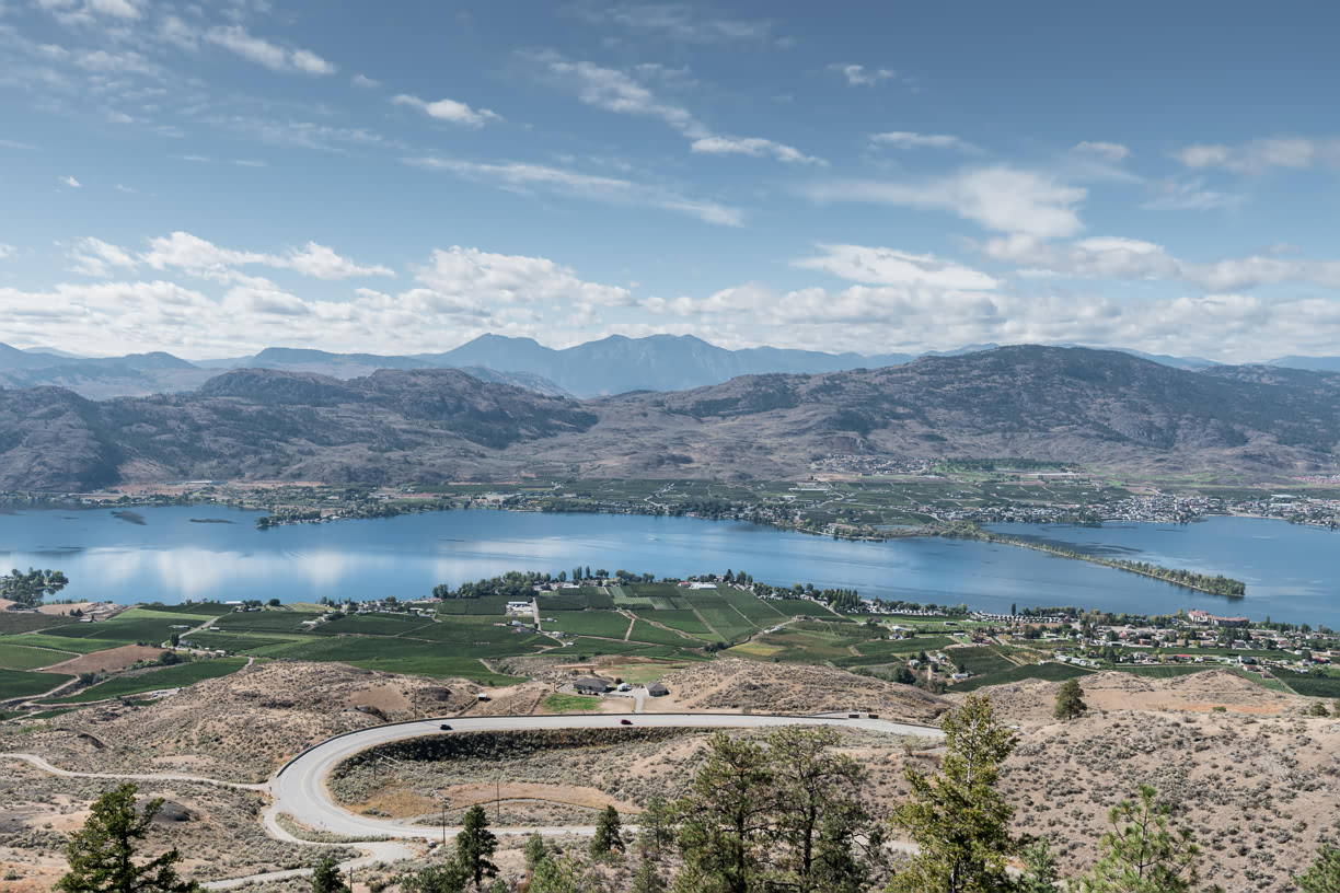 View over Osoyoos
