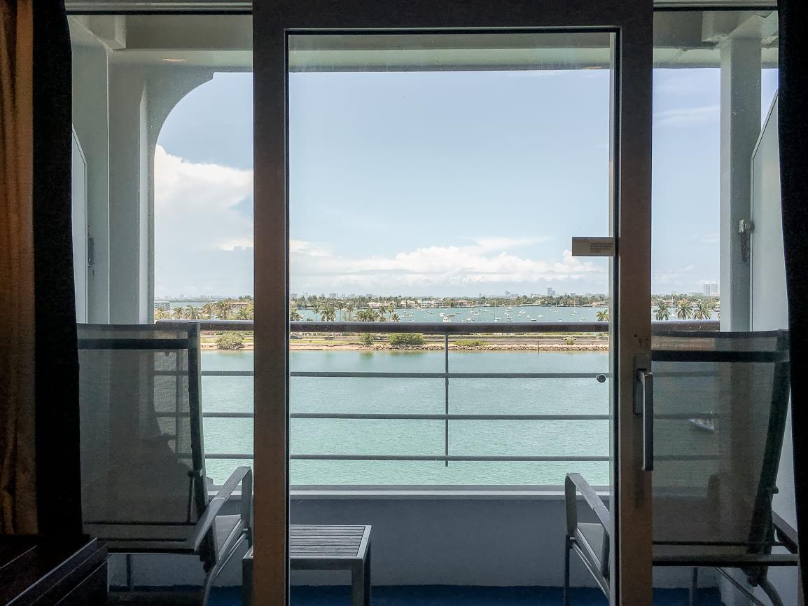 Balcony on the Adonia