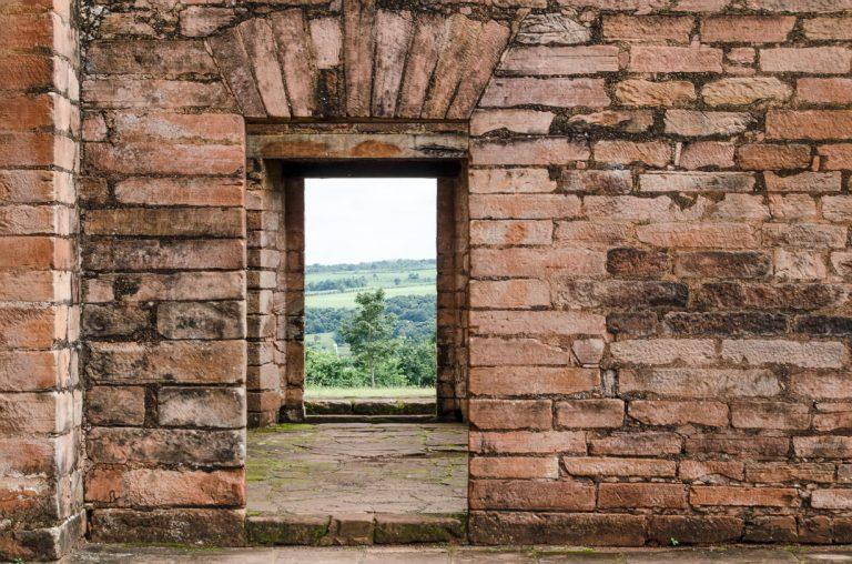 Jesuit ruins in Paraguay