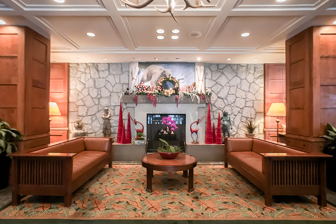 Pan Pacific Whistler fireplace