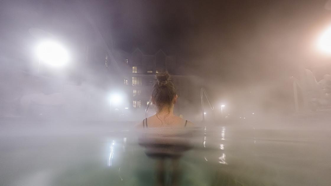 Pan Pacific Whistler Hot Tub