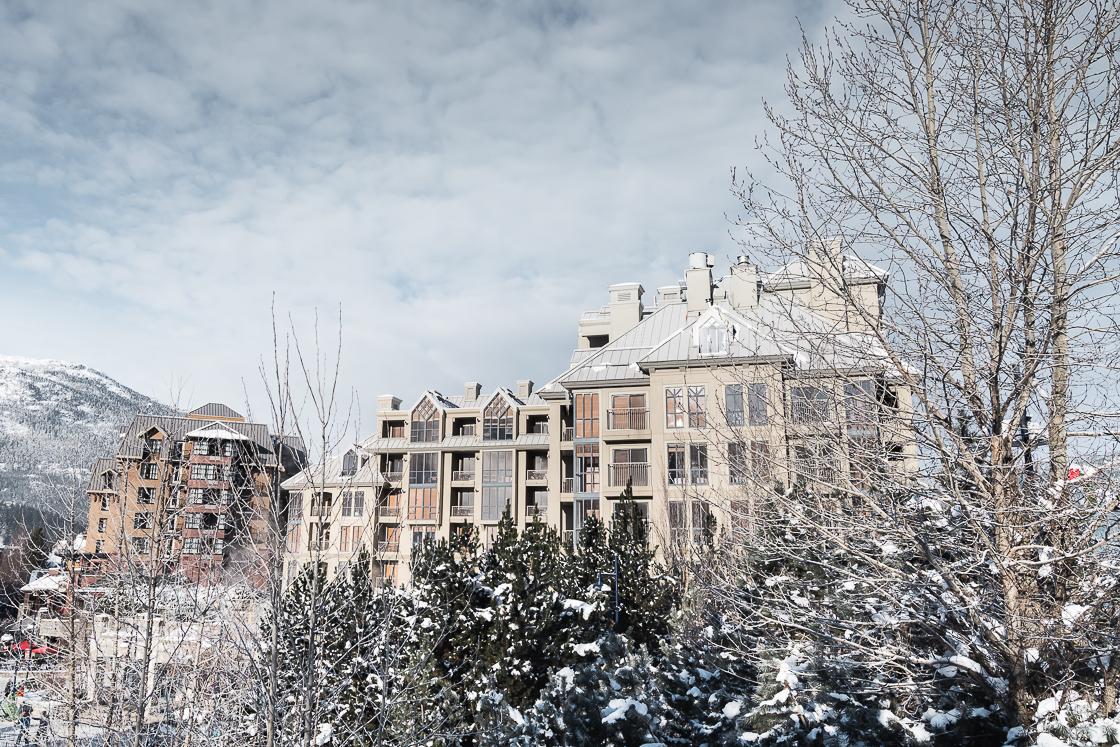 Pan Pacific Whistler Mountainside Hotel exterior