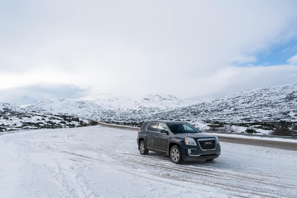 Car in White Pass