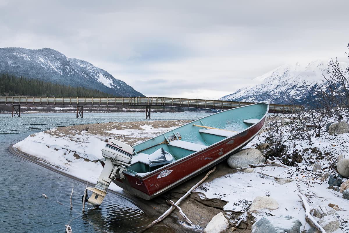 Carcross boat