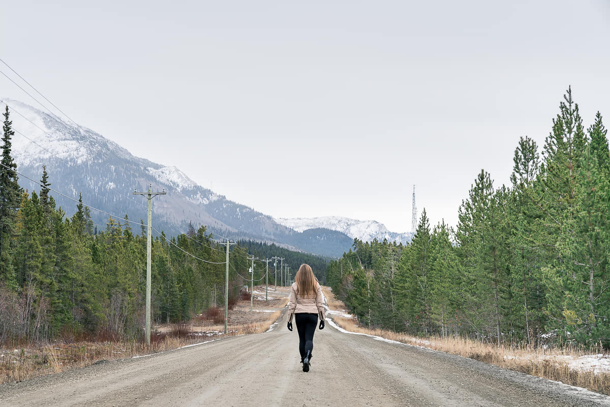 Walking in Whitehorse