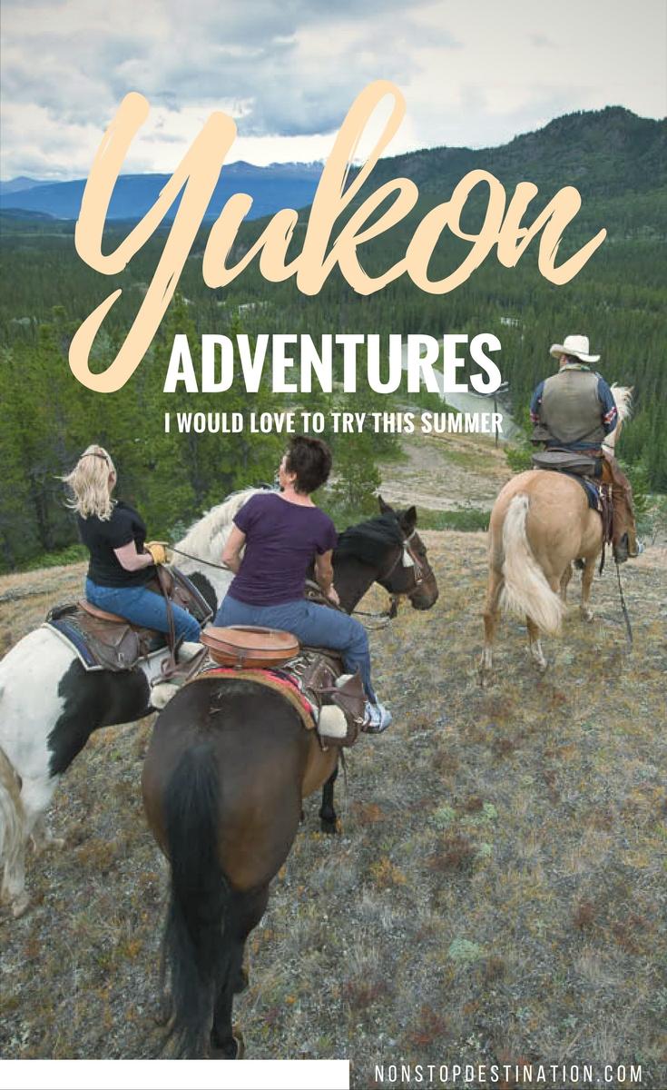 Yukon adventures try summer