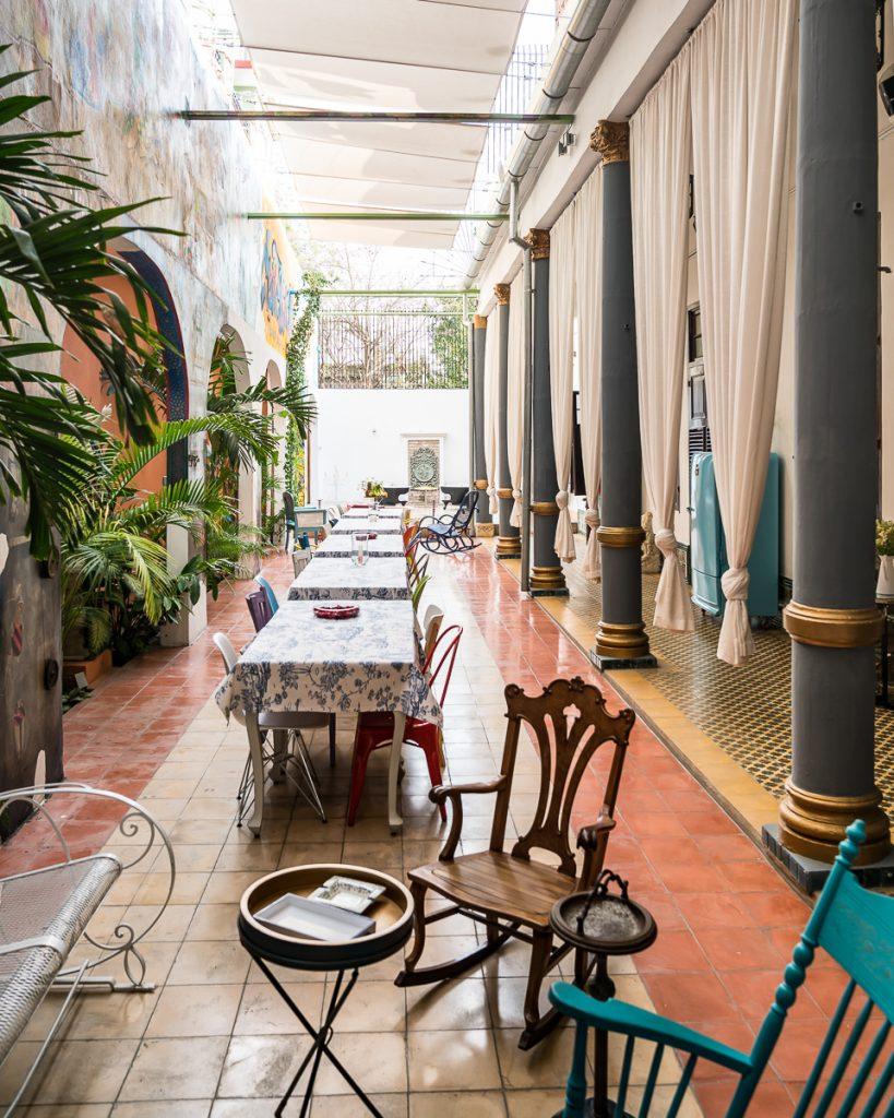 Casa Buena Vista Cienfuegos patio