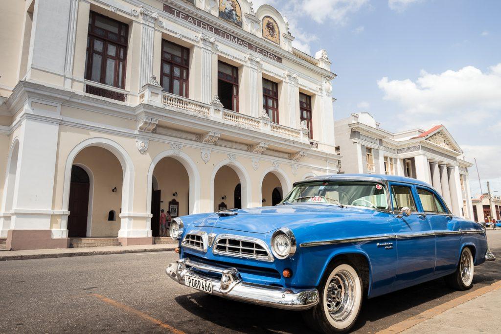 Cienfuegos Cuba vintage car