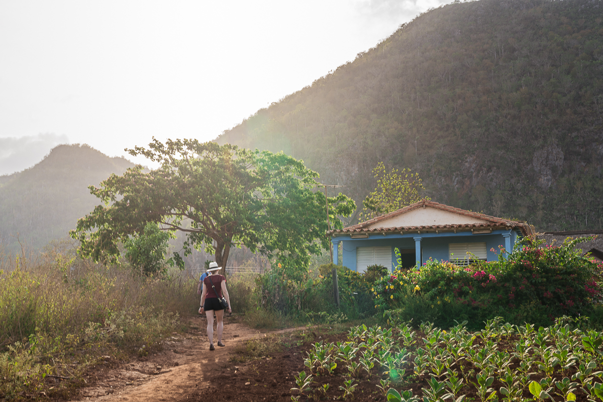 Vinales Cuba sunset mogotes
