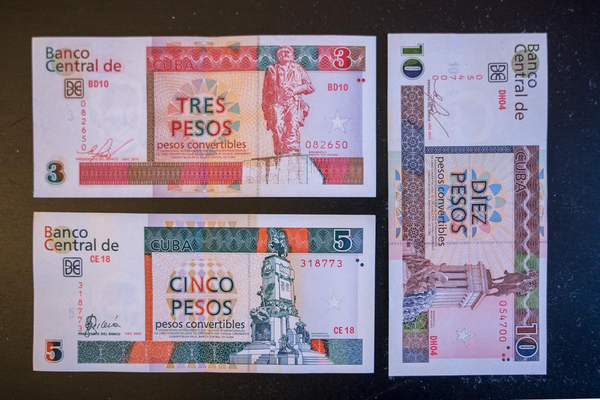 Cuba Convertible Peso or CUC