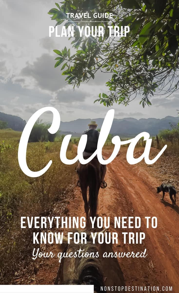 Cuba trip planner