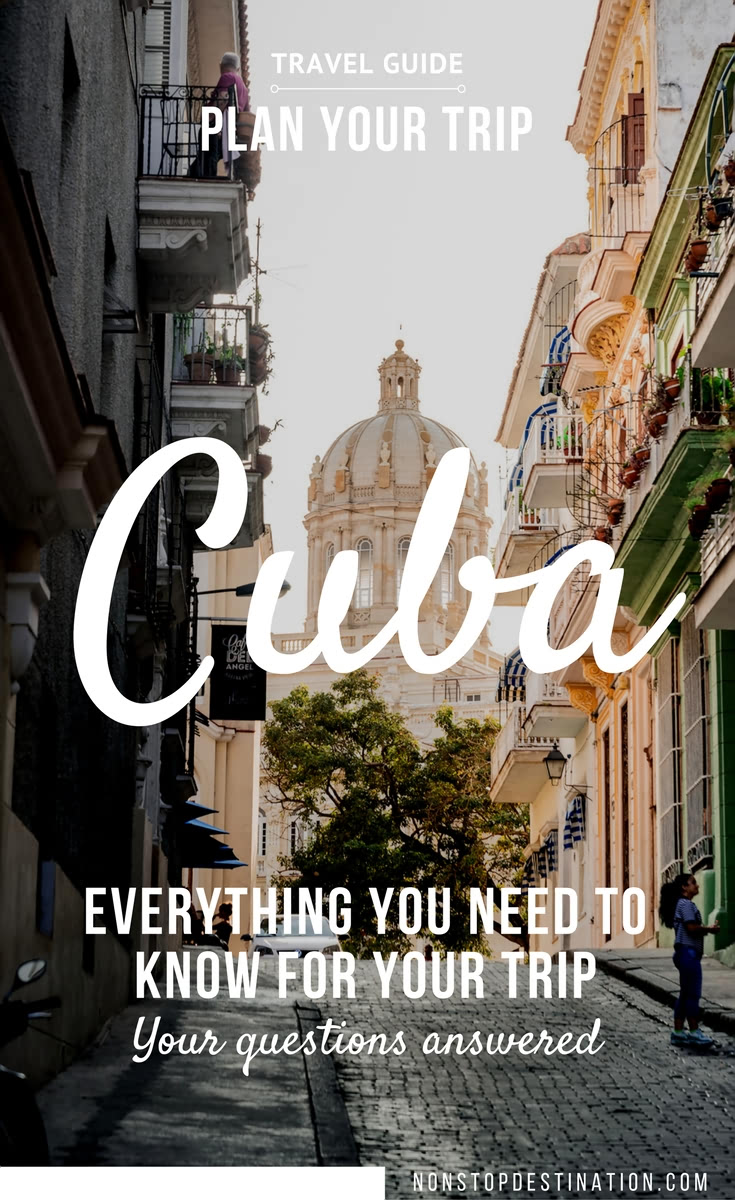 Plan your trip to Cuba