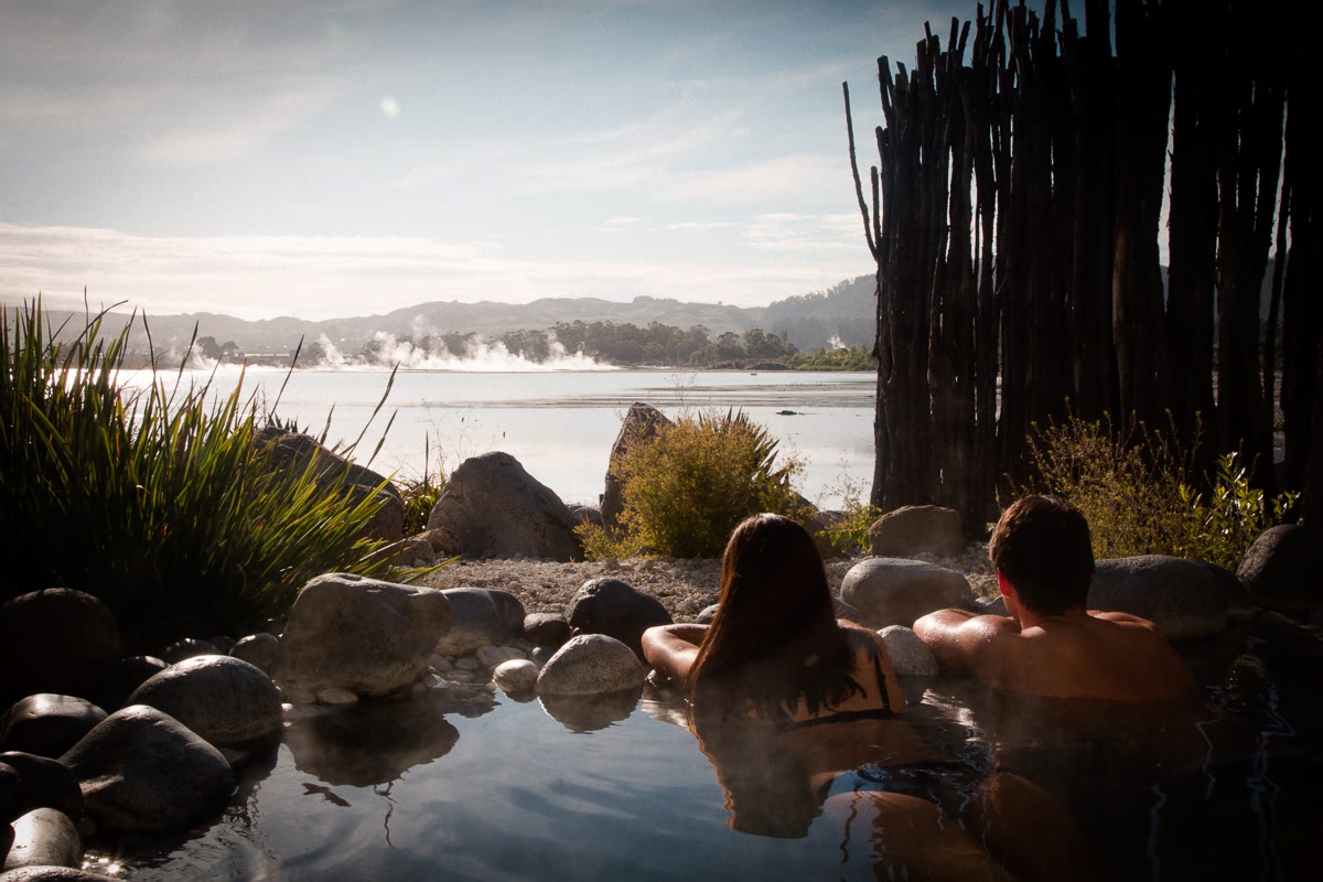 Polynesian Spa Rotorua private pool
