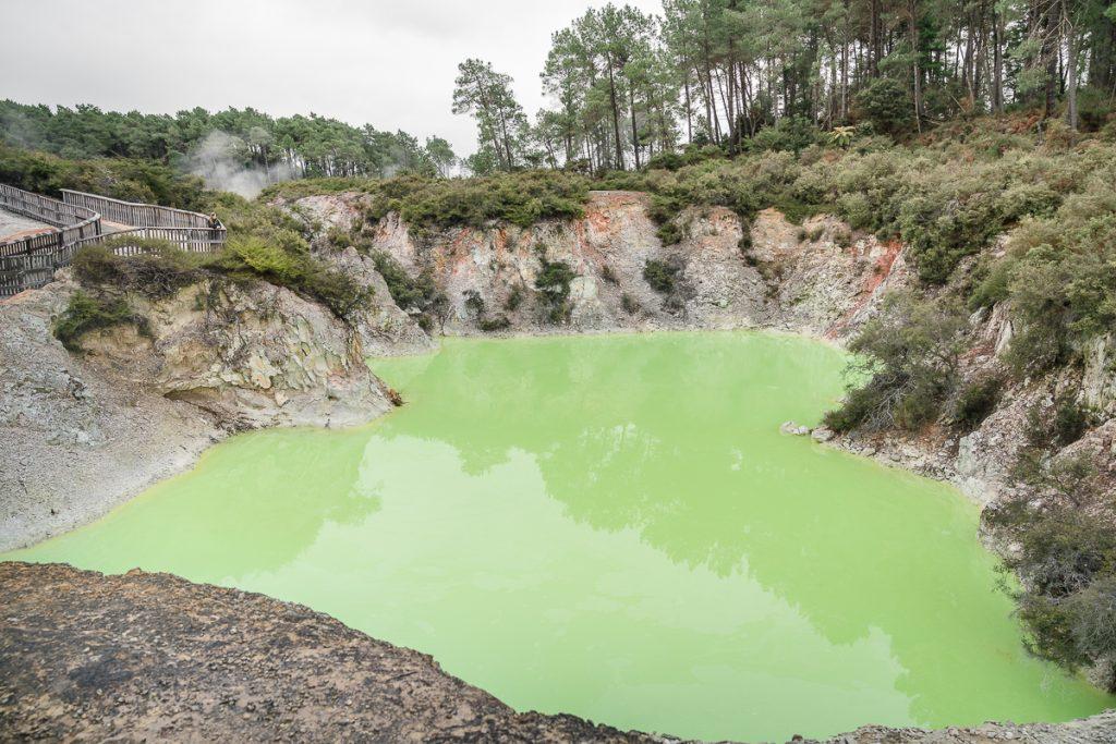Waiotapu Thermal Devil's Bath