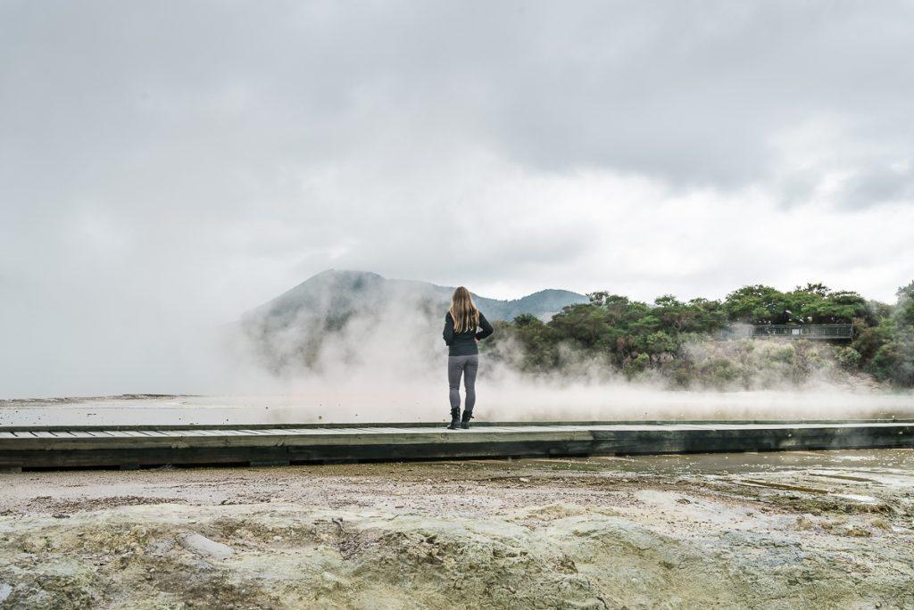 Waiotapu Thermal Walkway Steam