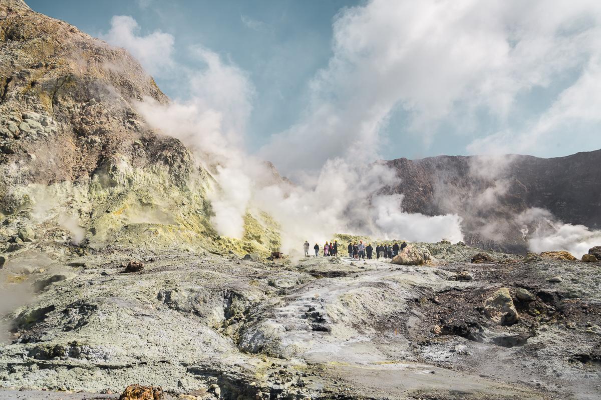 Whakaari White Island Volcano