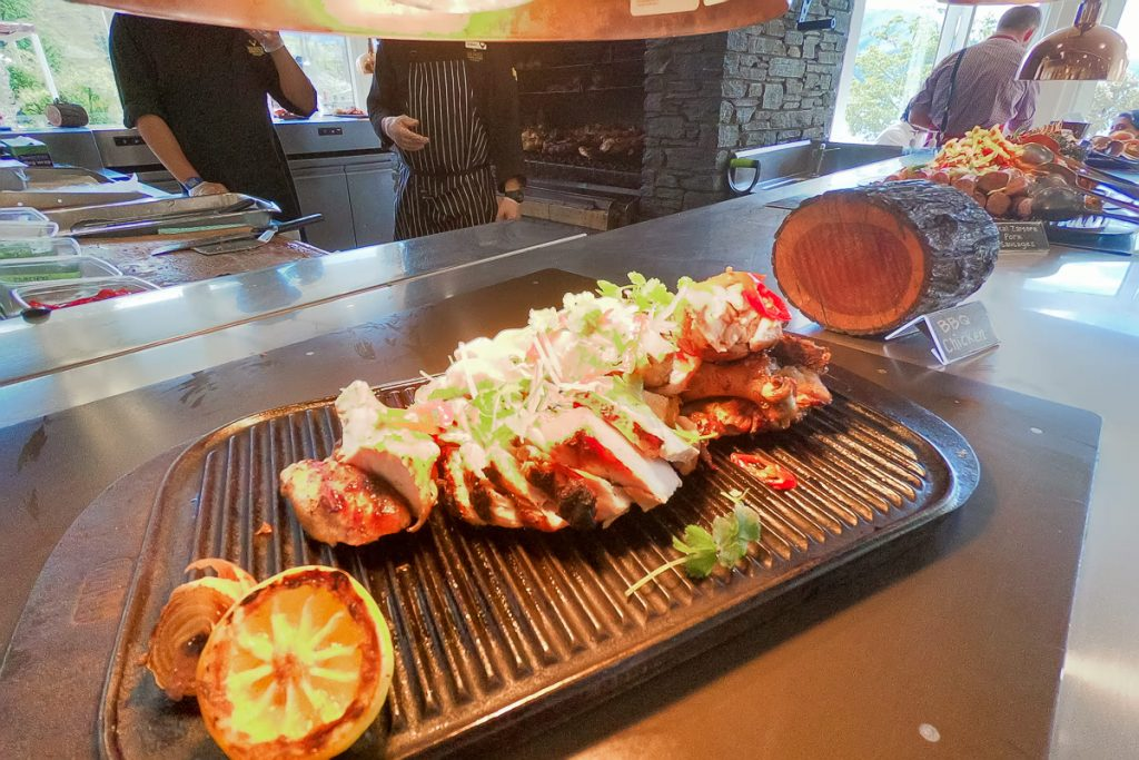 BBQ Lunch at Walter Peak Farm