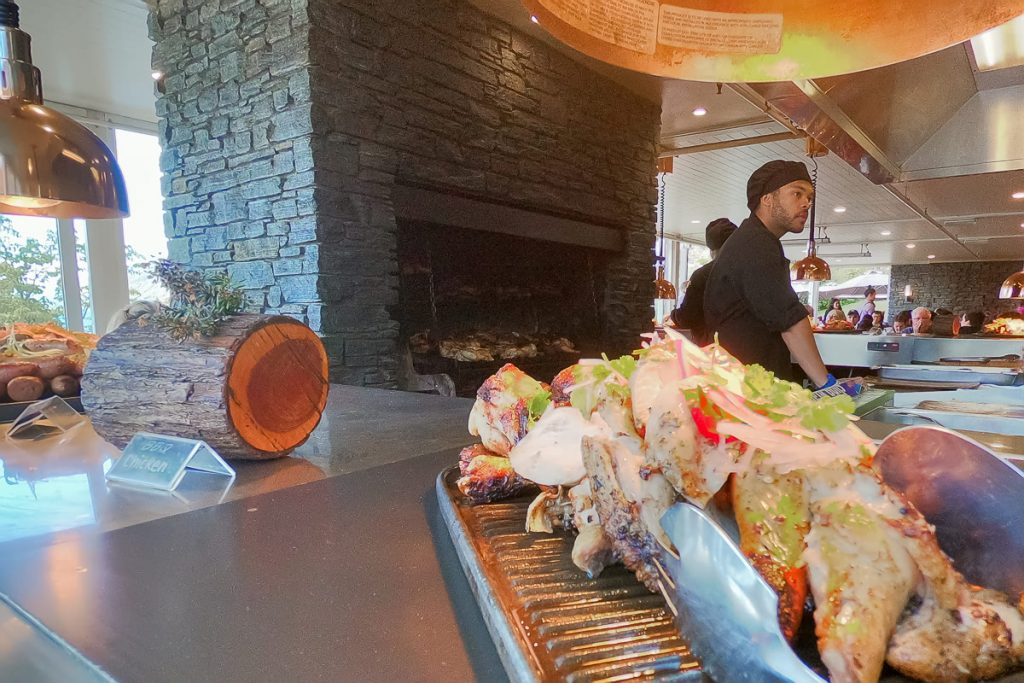 BBQ Lunch Walter Peak