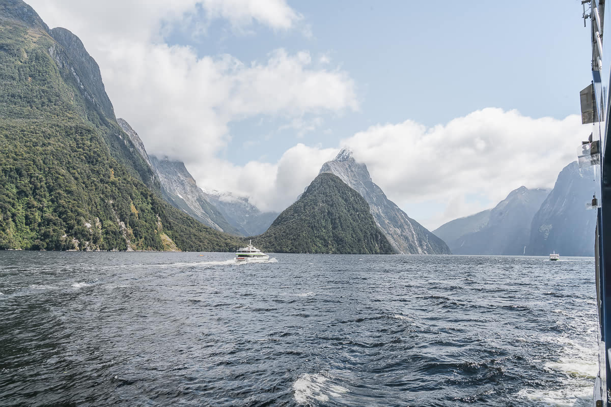 Milford Sound scenic cruise South Island