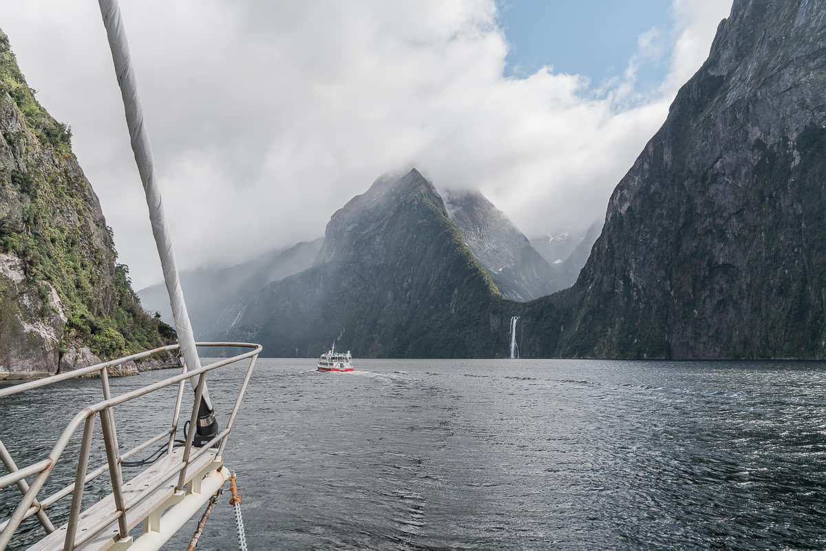 Milford Sound scenic view