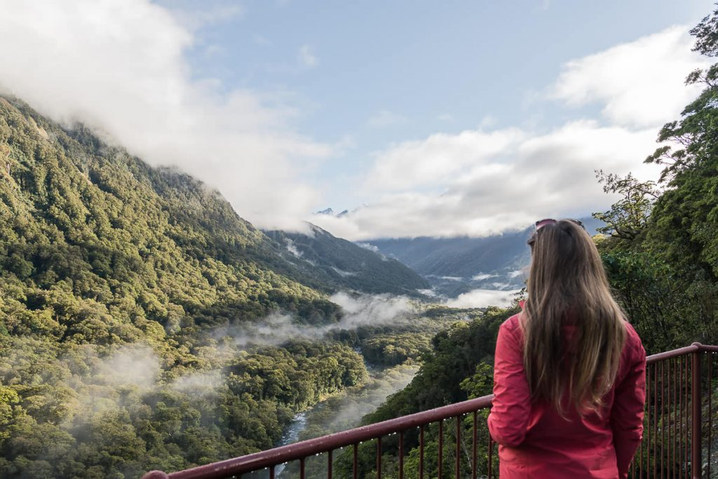 On the way to Milford Sound from Queenstown