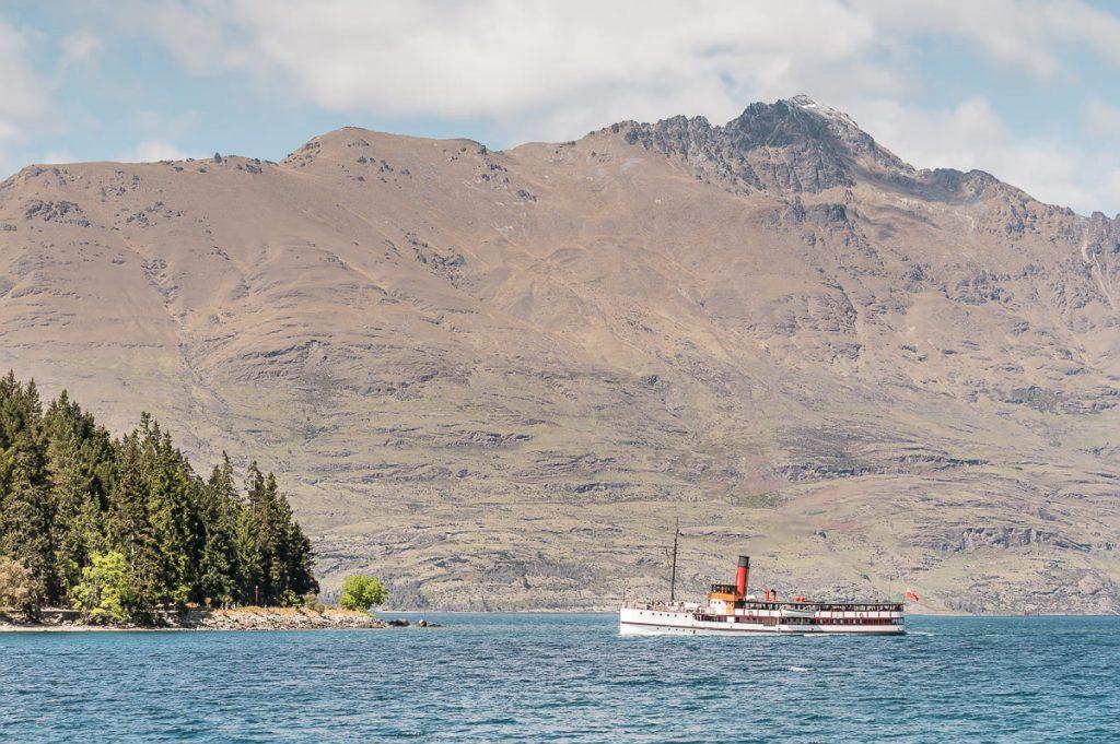 TSS Earnslaw on Lake Wakatipu