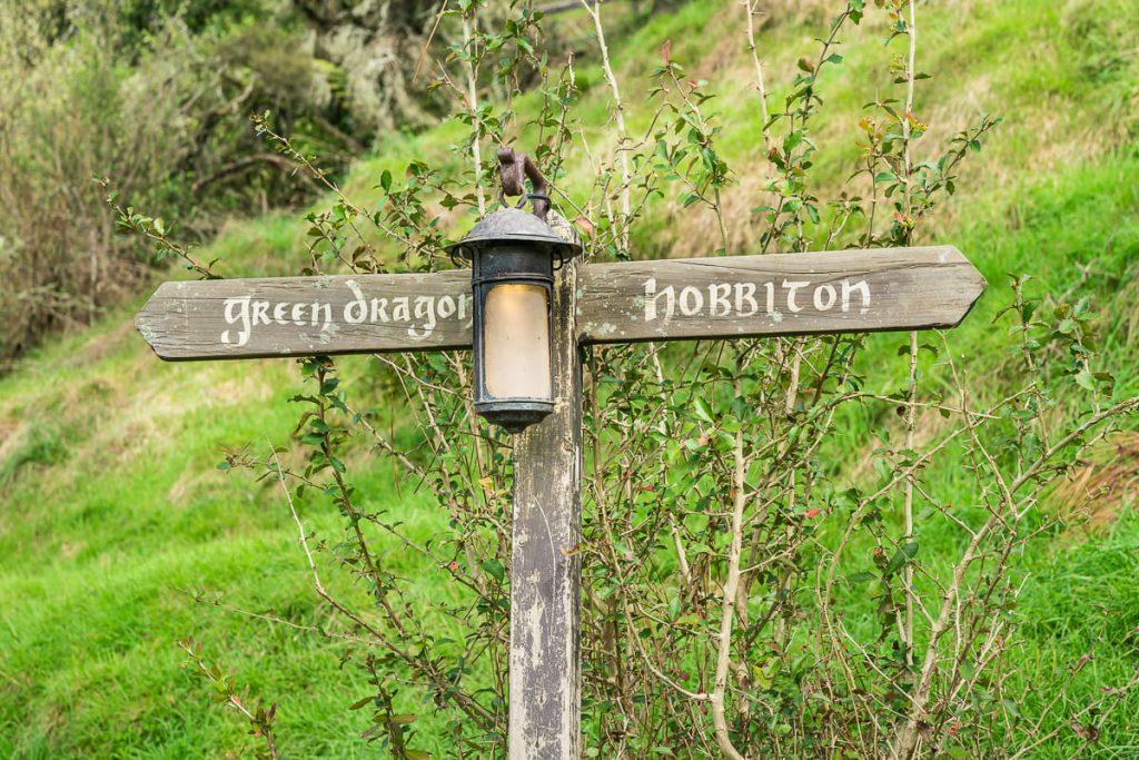 Hobbiton signs