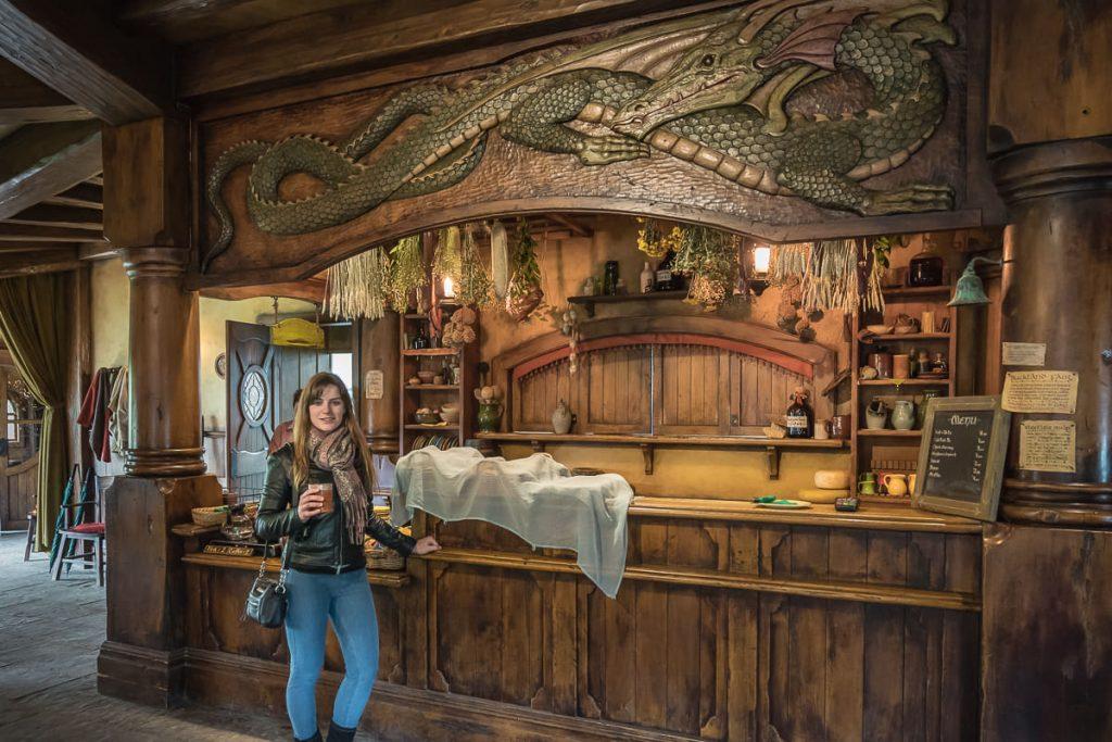 Inside the Green Dragon Hobbiton
