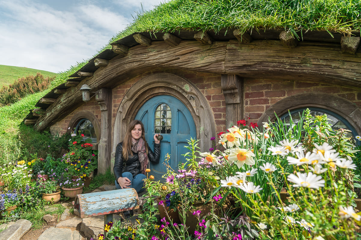Hobbit Hole in Hobbiton