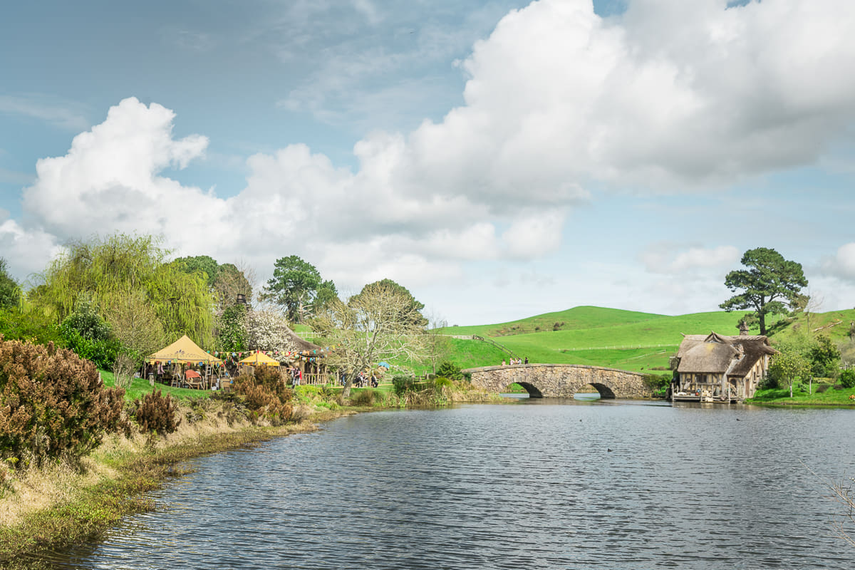 Visiting Hobbiton the Hobbit Setting